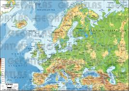 Ancient Europe Map by Geoatlas Continental Maps Europe Map City Illustrator Fully