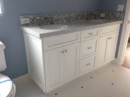 bathroom vanity shaker white style bathroom los
