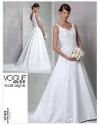 vogue wedding dress patterns vogue bridal original floor length wedding gown dress