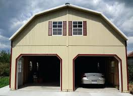 Garage With Loft Prefab 2 Story Garagemetal Garage With Loft Apartment Metal