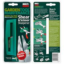 multi sharp 1401 shear u0026 scissor sharpener amazon co uk garden