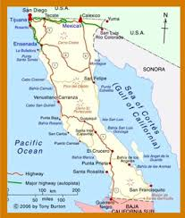 Map Of Ensenada Mexico by Travel U2013 The Ongley Institute