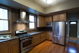 kitchen ideas with stainless steel appliances admirable modern kitchen cabinets chicago with wooden