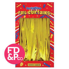 foil shimmer curtain party supplies ebay