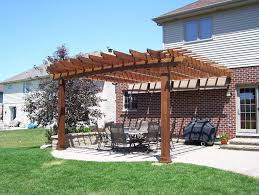 ipe pergola in lemont il pergolas u0026 trellises photo gallery