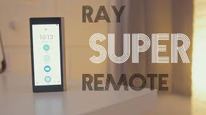 coolest remote control ever ray super remote review youtube