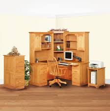 Corner Computer Desk With Hutch Popular Oak Computer Desk Custom Patio Design With Popular Oak