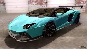 Lamborghini Aventador Replacement - lamborghini for gta san andreas