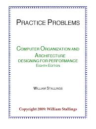 practiceproblems coa8e cpu cache input output