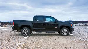 nissan frontier bagged 2017 gmc canyon diesel test drive review