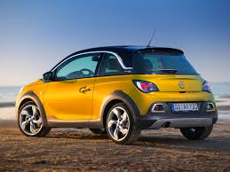 opel adam trunk opel adam rocks priced from u20ac15 990 in germany video autoevolution
