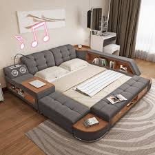 Modern Simple Bedroom Usd 593 33 Tatami Bed Main Bedroom Modern Simple Storage Bed