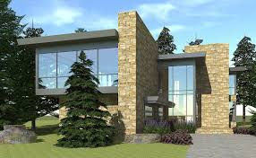 modern home plan with views 44087td architectural designs