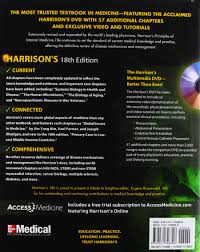 buy harrison u0027s principles of internal medicine 18th edition book