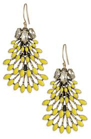 Costume Chandelier Earrings Norah Chandeliers By Stella U0026 Dot Yellow Chandelier Earrings