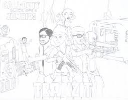 Black Ops 2 Tranzit By Megaartist923 On Deviantart Call Of Duty Black Ops Coloring Pages