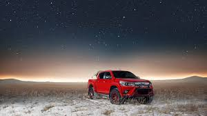 arctic maserati get your toyota hilux in gear with arctic trucks middle east