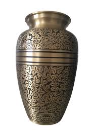 urn for ashes antique nickel engraved 7 cremation urn for ashes medium urns ashes