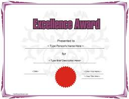 9 best award certificate templates images on pinterest
