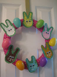 easter decorations to make for the home easter craft handprint bunny wreath happy home fairy