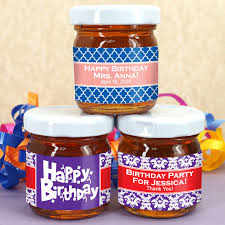 honey favors birthday honey favors personalized honey favors edible