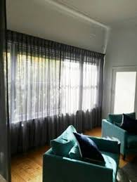 Pinch Pleated Semi Sheer Curtains Closed Pinch Pleated Sheer Curtain With Triple Weave Separate