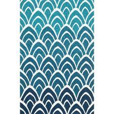 loloi rugs venice beach blue area rug u0026 reviews wayfair