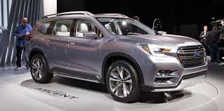 subaru suv concept interior ascent concept seven seat tribeca replacement unveiled