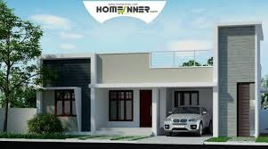 Home Design - kerala style 3 bhk low cost home design