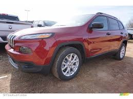jeep cherokee sport interior 2017 2017 deep cherry red crystal pearl jeep cherokee sport 117593119