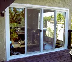 full view glass door kinds of the great sliding glass dog door home decor and furniture