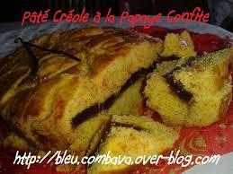 cuisine reunionnaise meilleures recettes pâté créole à la papaye confite réunion ma cuisine bleu combava