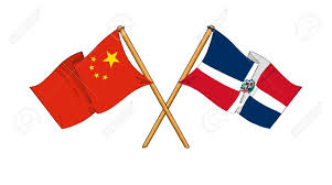 Dominican Republic Flag History Cartoon Like Drawings Of Flags Showing Friendship Between China