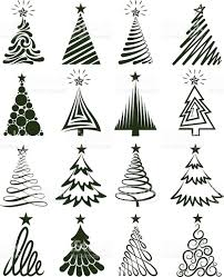 tree collection royalty free vector graphics stock