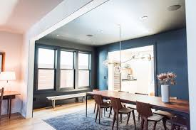 san francisco victorian gets soft modern makeover wsj the dining room is separated from the living room with just a hint of walls on
