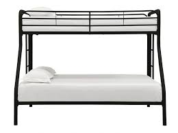 bunk beds eclipse twin over full futon bunk bed multiple colors