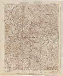 State Map Of Tennessee by