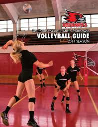 2014 southeast missouri volleyball information guide by southeast