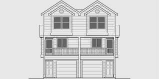 three story home plans narrow townhouse plan duplex design 3 story townhouse d 547