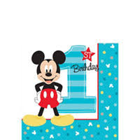 1st birthday mickey mouse 1st birthday party supplies party city
