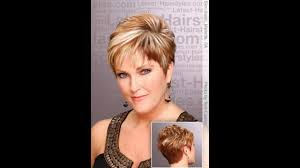 short hairstyles older women youtube