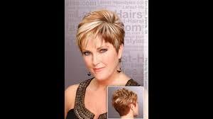 short hairstyles older women youtube