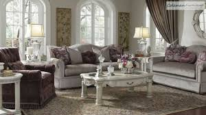 monte carlo ii silver pearl living room collection from aico