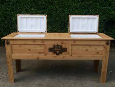 Patio Ice Cooler by Georgia Bulldogs Wooden Ice Chest Cooler Outdoor Ice Chests