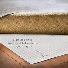 How Big Should A Rug Pad Be Amazon Com Linenspa Non Slip Area Rug Pad Excellent Grip