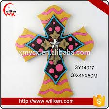 crosses wall decor resin mirror western wall cross decor rustic crosses for sale