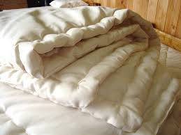 Wool Filled Comforter Natural Wool Comforters Organic Bedroom Soft Breathable Wool