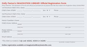 registration form for dolly parton u0027s imagination library imgur
