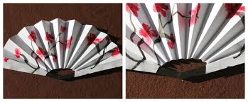 how to make paper fans s pastiche fans how to make an ornamental fan