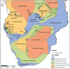 Map Of Southern Africa by New U U2013pb Shrimp Ages From The Lubango Region Sw Angola Insights